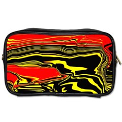 Abstract Clutter Toiletries Bags 2 Side