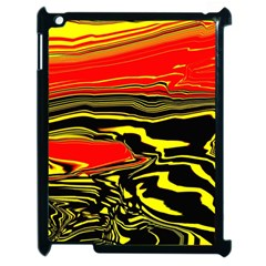 Abstract Clutter Apple iPad 2 Case (Black)