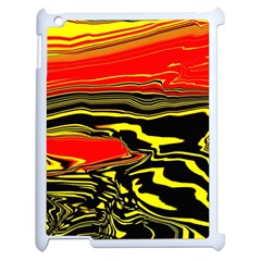 Abstract Clutter Apple iPad 2 Case (White)