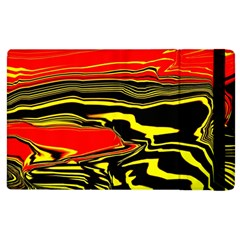 Abstract Clutter Apple iPad 2 Flip Case