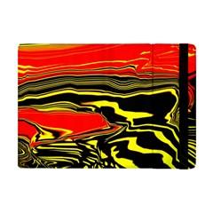 Abstract Clutter Apple iPad Mini Flip Case