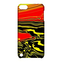 Abstract Clutter Apple iPod Touch 5 Hardshell Case with Stand