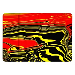 Abstract Clutter Samsung Galaxy Tab 8.9  P7300 Flip Case