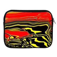 Abstract Clutter Apple iPad 2/3/4 Zipper Cases