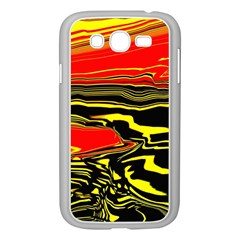 Abstract Clutter Samsung Galaxy Grand Duos I9082 Case (white)