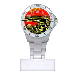 Abstract Clutter Plastic Nurses Watch