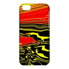 Abstract Clutter Apple iPhone 5C Hardshell Case