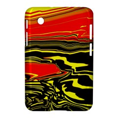 Abstract Clutter Samsung Galaxy Tab 2 (7 ) P3100 Hardshell Case