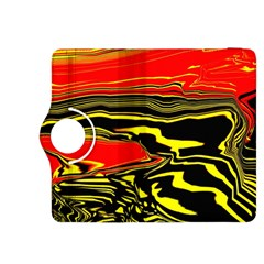 Abstract Clutter Kindle Fire HDX 8.9  Flip 360 Case