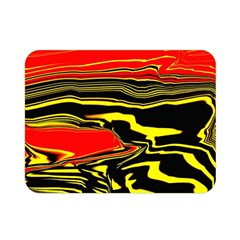 Abstract Clutter Double Sided Flano Blanket (Mini)