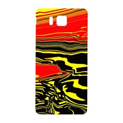 Abstract Clutter Samsung Galaxy Alpha Hardshell Back Case