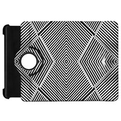 Black And White Line Abstract Kindle Fire HD 7