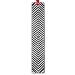 Black And White Line Abstract Large Book Marks