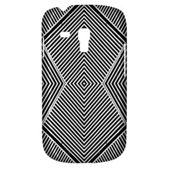 Black And White Line Abstract Galaxy S3 Mini