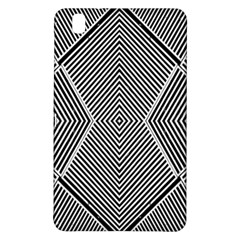 Black And White Line Abstract Samsung Galaxy Tab Pro 8.4 Hardshell Case