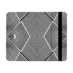 Black And White Line Abstract Samsung Galaxy Tab Pro 8.4  Flip Case