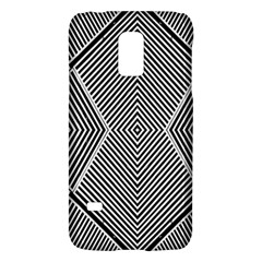 Black And White Line Abstract Galaxy S5 Mini