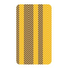 Brown And Orange Herringbone Pattern Wallpaper Background Memory Card Reader
