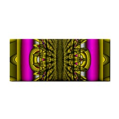 Fractal In Purple And Gold Cosmetic Storage Cases