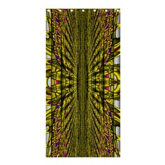 Fractal In Purple And Gold Shower Curtain 36  X 72  (stall)