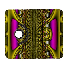 Fractal In Purple And Gold Galaxy S3 (Flip/Folio)