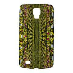 Fractal In Purple And Gold Galaxy S4 Active