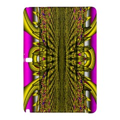 Fractal In Purple And Gold Samsung Galaxy Tab Pro 12.2 Hardshell Case