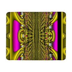 Fractal In Purple And Gold Samsung Galaxy Tab Pro 8.4  Flip Case