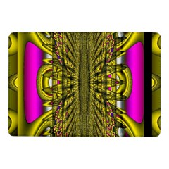 Fractal In Purple And Gold Samsung Galaxy Tab Pro 10.1  Flip Case
