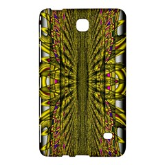 Fractal In Purple And Gold Samsung Galaxy Tab 4 (7 ) Hardshell Case