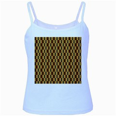 Gold Abstract Wallpaper Background Baby Blue Spaghetti Tank
