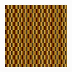 Gold Abstract Wallpaper Background Medium Glasses Cloth (2 Side)