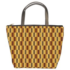 Gold Abstract Wallpaper Background Bucket Bags