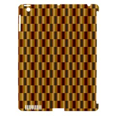 Gold Abstract Wallpaper Background Apple iPad 3/4 Hardshell Case (Compatible with Smart Cover)