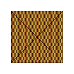 Gold Abstract Wallpaper Background Acrylic Tangram Puzzle (4  x 4 )