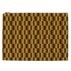 Gold Abstract Wallpaper Background Cosmetic Bag (xxl)