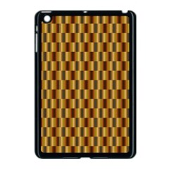 Gold Abstract Wallpaper Background Apple iPad Mini Case (Black)