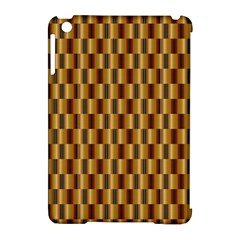Gold Abstract Wallpaper Background Apple Ipad Mini Hardshell Case (compatible With Smart Cover)