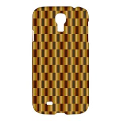 Gold Abstract Wallpaper Background Samsung Galaxy S4 I9500/I9505 Hardshell Case