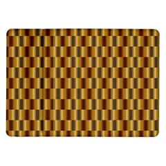 Gold Abstract Wallpaper Background Samsung Galaxy Tab 10.1  P7500 Flip Case