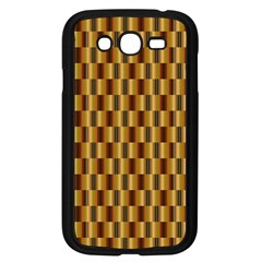 Gold Abstract Wallpaper Background Samsung Galaxy Grand DUOS I9082 Case (Black)