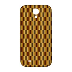 Gold Abstract Wallpaper Background Samsung Galaxy S4 I9500/i9505  Hardshell Back Case