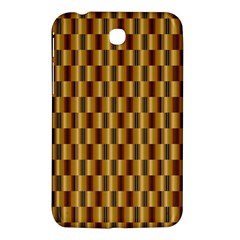 Gold Abstract Wallpaper Background Samsung Galaxy Tab 3 (7 ) P3200 Hardshell Case