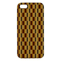 Gold Abstract Wallpaper Background iPhone 5S/ SE Premium Hardshell Case
