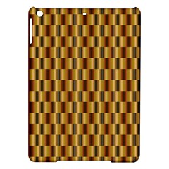 Gold Abstract Wallpaper Background iPad Air Hardshell Cases
