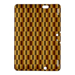 Gold Abstract Wallpaper Background Kindle Fire Hdx 8 9  Hardshell Case