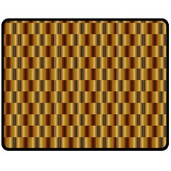 Gold Abstract Wallpaper Background Double Sided Fleece Blanket (Medium)
