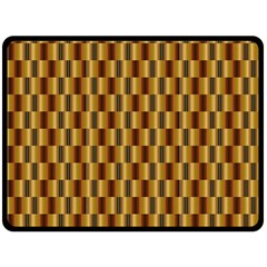 Gold Abstract Wallpaper Background Double Sided Fleece Blanket (large)