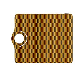 Gold Abstract Wallpaper Background Kindle Fire Hdx 8 9  Flip 360 Case