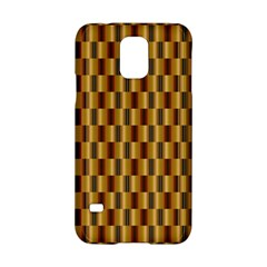 Gold Abstract Wallpaper Background Samsung Galaxy S5 Hardshell Case